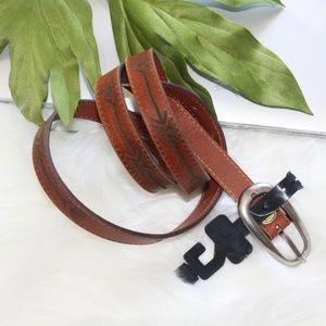 NWT Vintage 1878 Genuine Leather Brown Belt